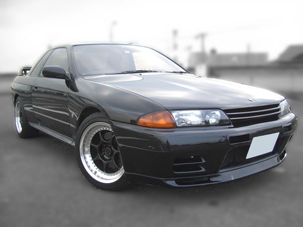1989 Nissan Skyline BNR32 : Front view