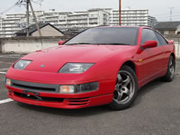 1990 Nissan Fairlady Z 300ZX Twinturbo VG30DETT 5spd T-bar Roof For sale japan to Canada 2009 MONKY'S INC CANADA CARS DIVISION