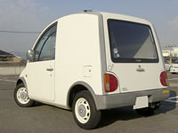 1990 Nissan Scargo van for sale : Rear end view