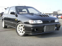 1991 Nissan Pulsar GTi-R F/M intercooler, modified car