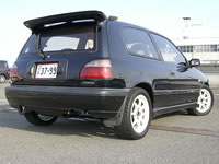 Modified Pulsar GTi-R : Rear view