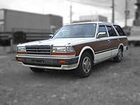 1991 Nissan Gloria WUY30 RD28 Diesel engine station wagon FOR SALE