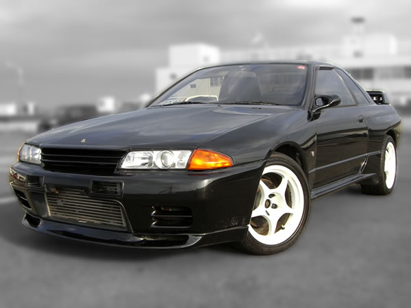 1991 JDM Nissan Skyline GT-R / GTR R32 HKS modified : Front nice looking view