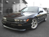 FOR SALE 1991 Nissan Sil80 sileighty 180SX modified SR20DET 5spd, black model