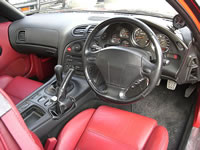 1992 FD3S RX7 TypeX : Leather Interior