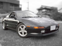 For Sale 1992 MR-2/MR2 Tbar GTS 3SGTE turbo model export to Canada, UK, Ireland.