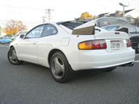 1994 ST205 Toyota Celica GT4 WRC Version FOR SALE JAPAN :  Rear View