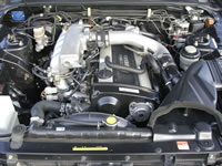 1993 R33 Nissan Skyline 25GTS-T Type-M For Sale Japan to Canada : Engine bay view
