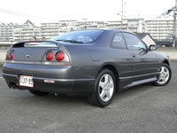 1993 R33 Nissan Skyline 25GTS-T Type-M For Sale Japan to Canada : Rear View