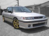 FOR SALE 1991 Subaru Legacy RS AWD Complete modified, 1996 Imprezza STI model engine swapped ubuilt used car /MONKY'S INC Canada division stock used cars