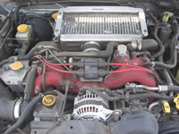 Modified Legacy with Imprezza parts : STi Imprezza Engine swapped