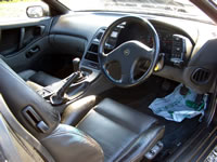 1991 300ZX Tbar turbo : Interior view