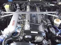 RB25DET Swapped R32 Skyline GTS-T TypeM : Engine bay view