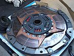 We can modify, upgrade the Clutch kits, This is a metal Clutch kits for 1JZGTE Toyota Supra, Soarer twinturbo model