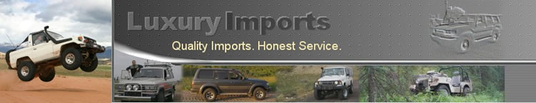 Luxury Imports - Quality imports. Honest Service.