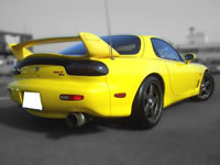 1992FD3SMazdaSpeed : Rear view