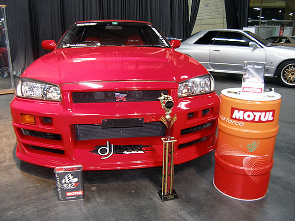 This Bee-Racing B324R Skyline GT-R was supplied by MONKY'S INC, Modified by DJauto, Got a win at DTP Edmonton Car Show on 2007year!