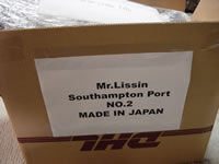 Parts are put into a box, then labeled by the Shipping Mark as Inner Cargo Load, treat as carefully