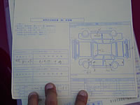 "We do ""Double check"" the inspection sheet with The driver's and sign this sheet"