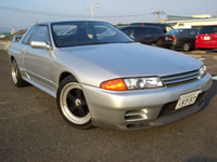 STOCK USED CAR/1989 BNR32 Nissan Skyline GT-R Low KM for sale