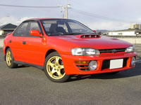 SOLD GALLERY JDM RHD 1993 SUBARU WRX 34,000km FOR SALE | MONKY'S INC CANADA CARS DIVISION